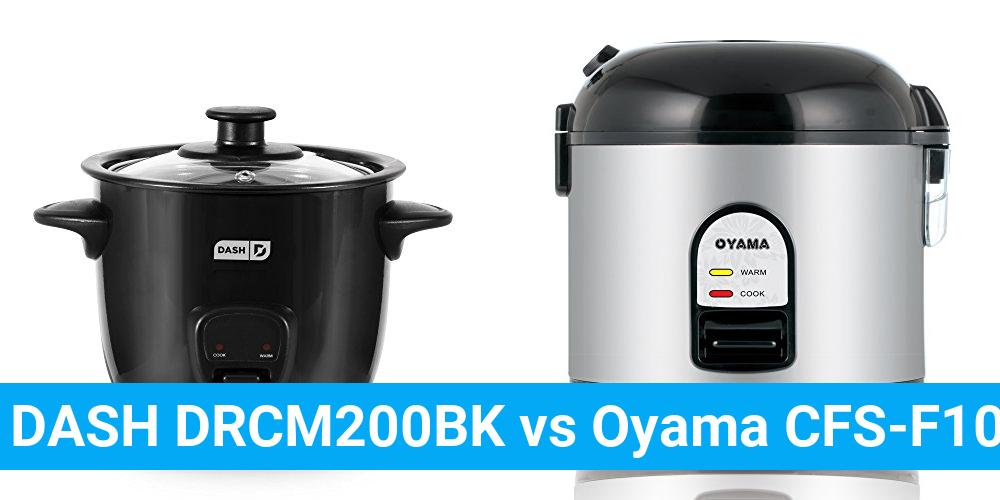 DASH DRCM200BK vs Oyama CFS-F10B