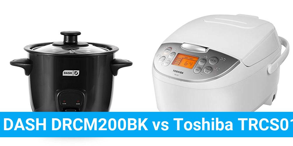 DASH DRCM200BK vs Toshiba TRCS01