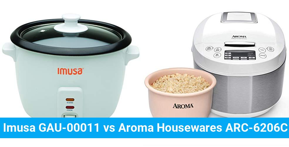 Imusa GAU-00011 vs Aroma Housewares ARC-6206C