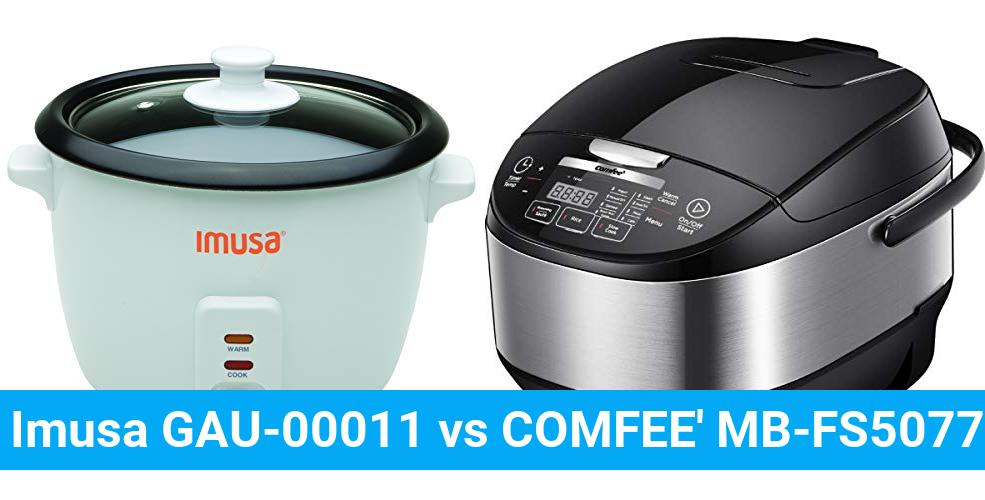 Imusa GAU-00011 vs COMFEE' MB-FS5077