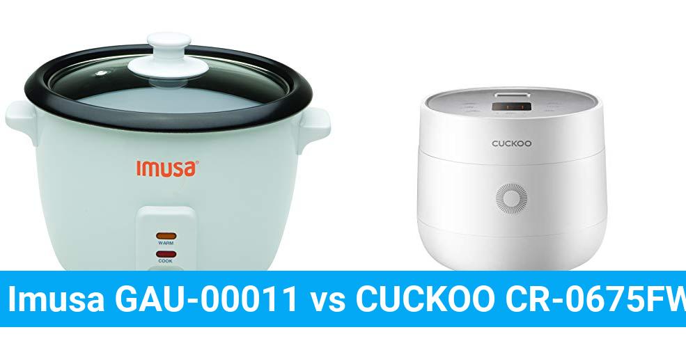 Imusa GAU-00011 vs CUCKOO CR-0675FW