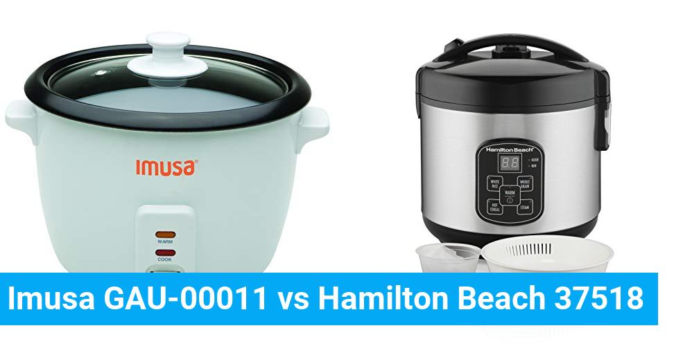 Imusa GAU-00011 vs Hamilton Beach 37518