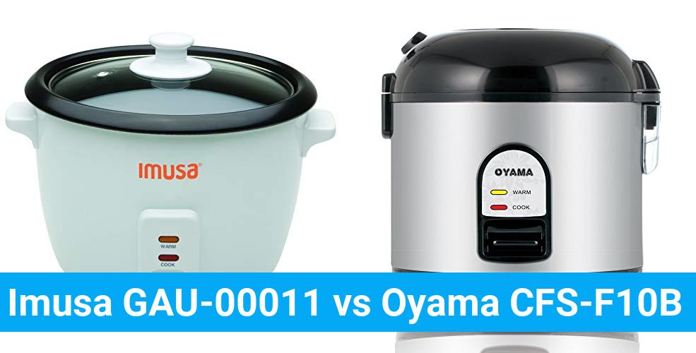 Imusa GAU-00011 vs Oyama CFS-F10B