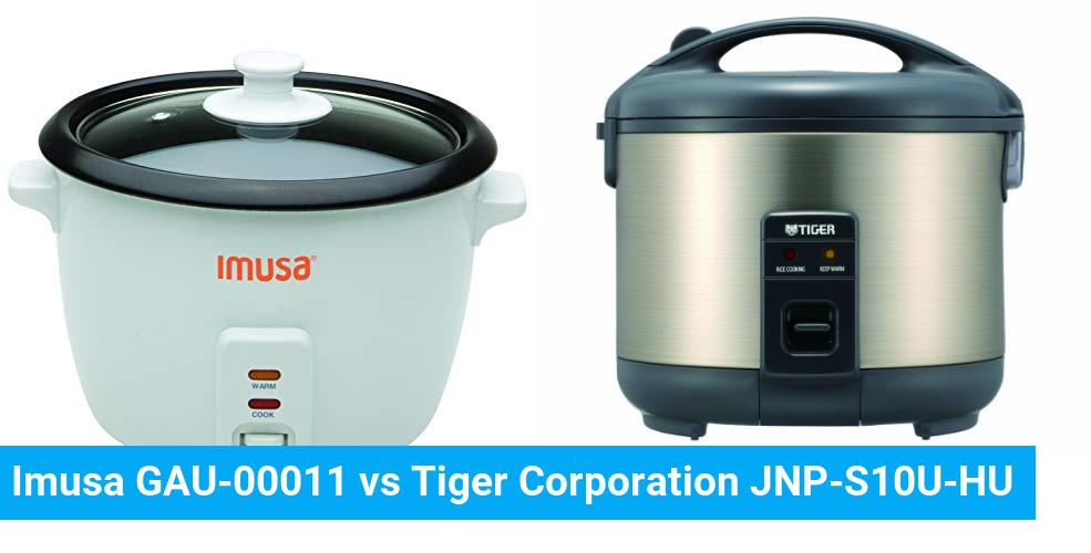 Imusa GAU-00011 vs Tiger Corporation JNP-S10U-HU