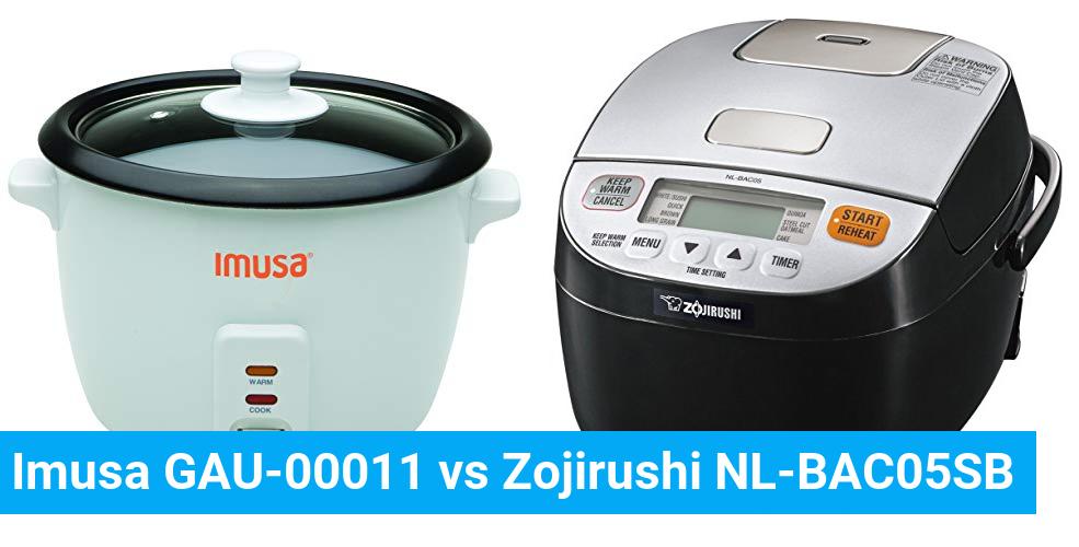 Imusa GAU-00011 vs Zojirushi NL-BAC05SB