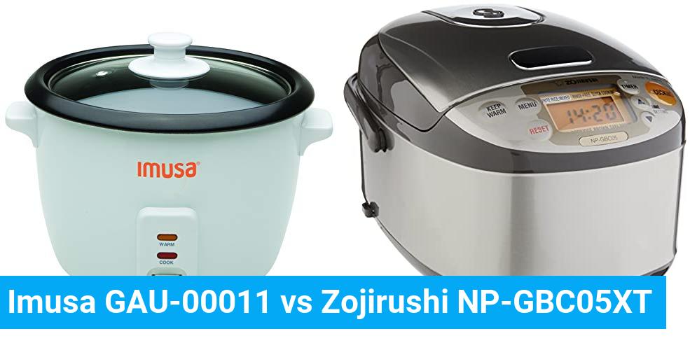 Imusa GAU-00011 vs Zojirushi NP-GBC05XT