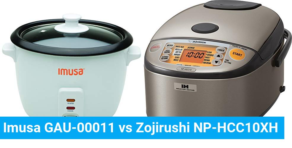 Imusa GAU-00011 vs Zojirushi NP-HCC10XH