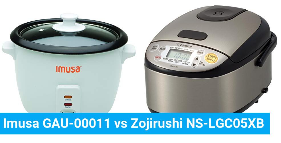 Imusa GAU-00011 vs Zojirushi NS-LGC05XB