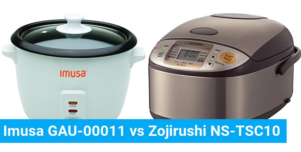 Imusa GAU-00011 vs Zojirushi NS-TSC10