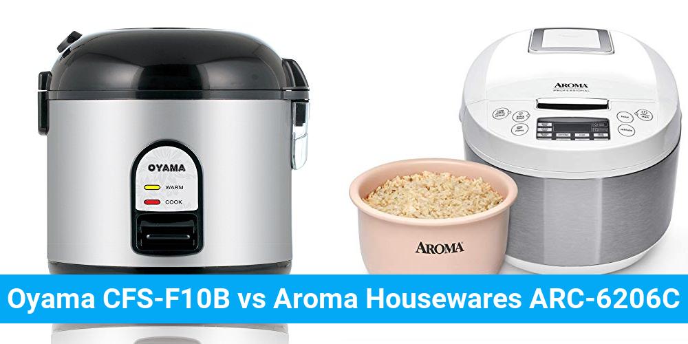 Oyama CFS-F10B vs Aroma Housewares ARC-6206C