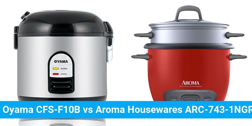 Oyama CFS-F10B vs Aroma Housewares ARC-743-1NGR