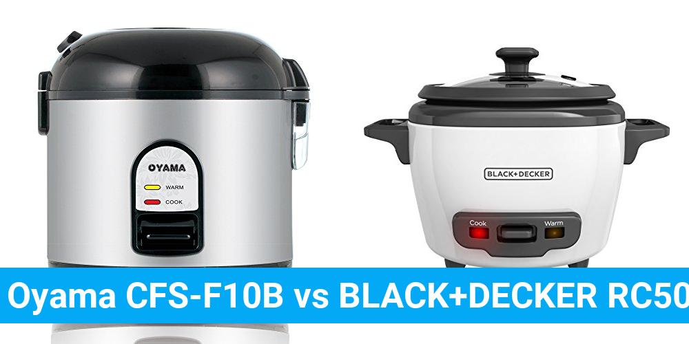 Oyama CFS-F10B vs BLACK+DECKER RC503