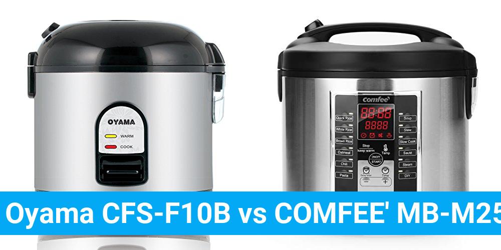 Oyama CFS-F10B vs COMFEE' MB-M25