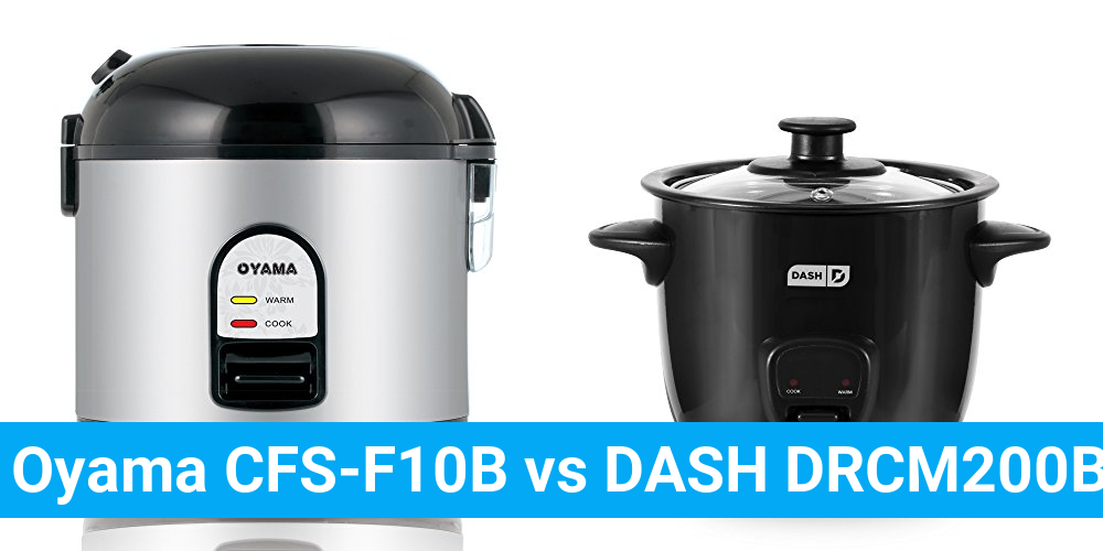 Oyama CFS-F10B vs DASH DRCM200BK