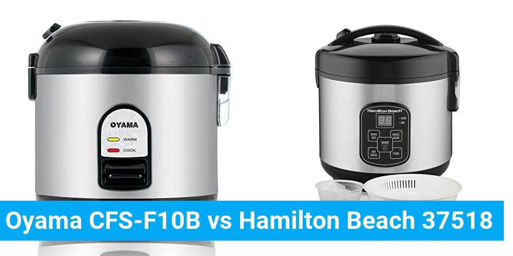 Oyama CFS-F10B vs Hamilton Beach 37518