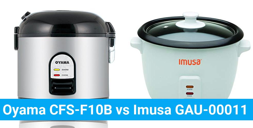 Oyama CFS-F10B vs Imusa GAU-00011