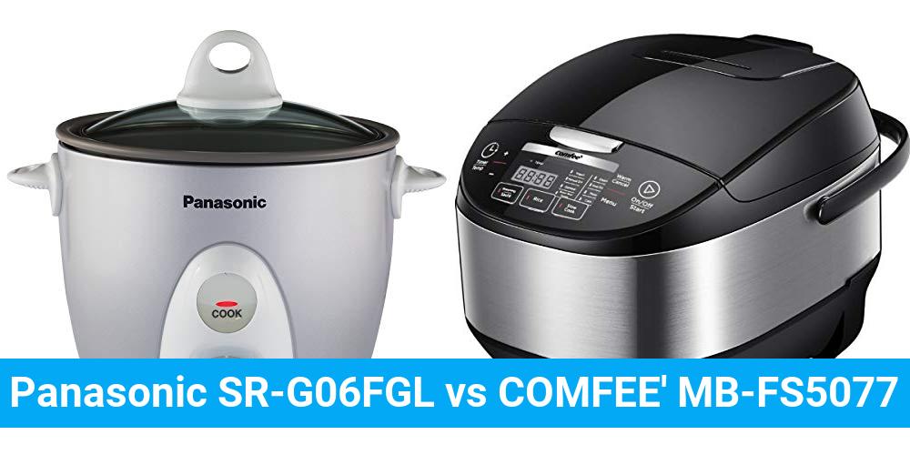 Panasonic SR-G06FGL vs COMFEE' MB-FS5077