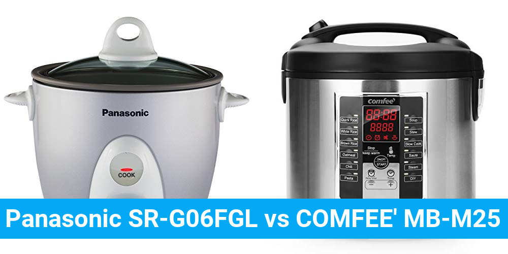 Panasonic SR-G06FGL vs COMFEE' MB-M25