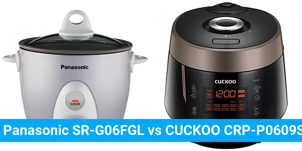 Panasonic SR-G06FGL vs CUCKOO CRP-P0609S