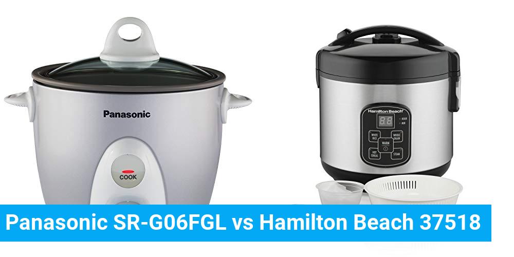 Panasonic SR-G06FGL vs Hamilton Beach 37518