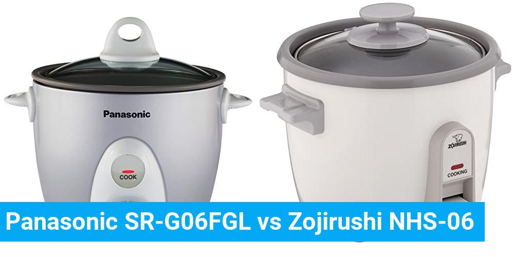 Panasonic SR-G06FGL vs Zojirushi NHS-06