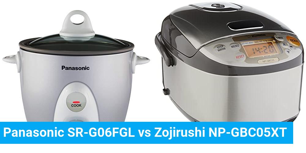 Panasonic SR-G06FGL vs Zojirushi NP-GBC05XT