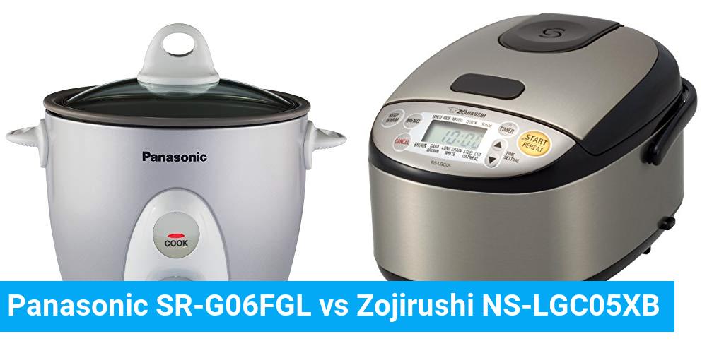 Panasonic SR-G06FGL vs Zojirushi NS-LGC05XB