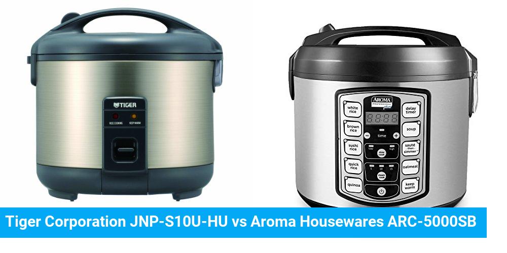 Tiger Corporation JNP-S10U-HU vs Aroma Housewares ARC-5000SB