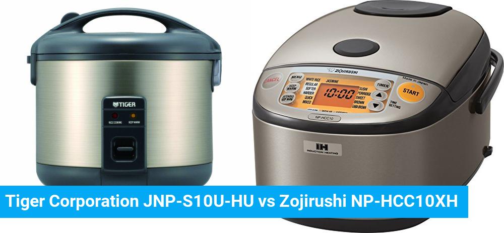 Tiger Corporation JNP-S10U-HU vs Zojirushi NP-HCC10XH
