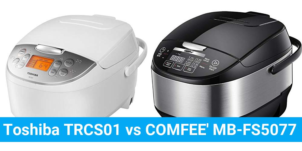 Toshiba TRCS01 vs COMFEE' MB-FS5077