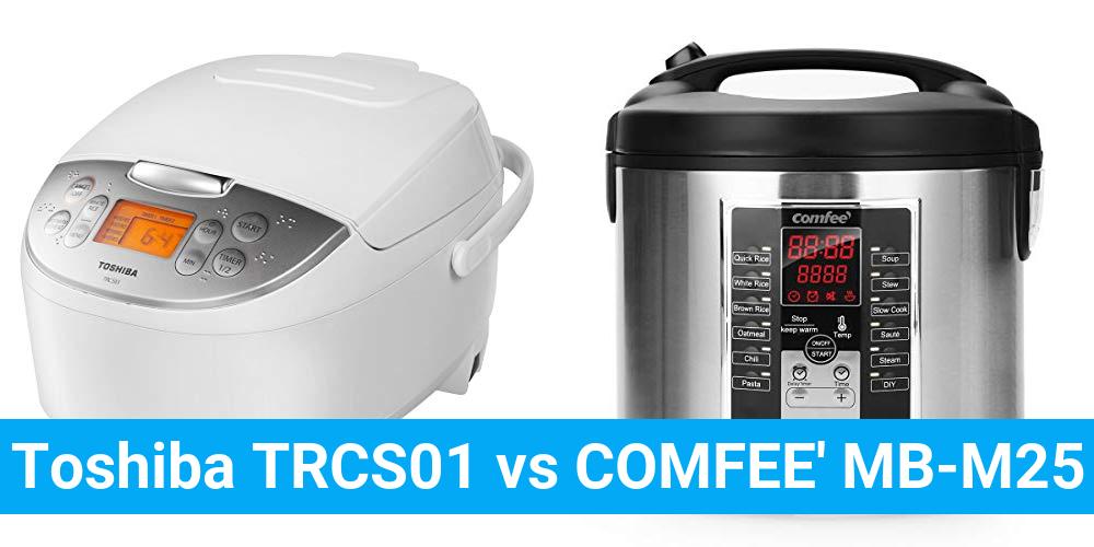 Toshiba TRCS01 vs COMFEE' MB-M25