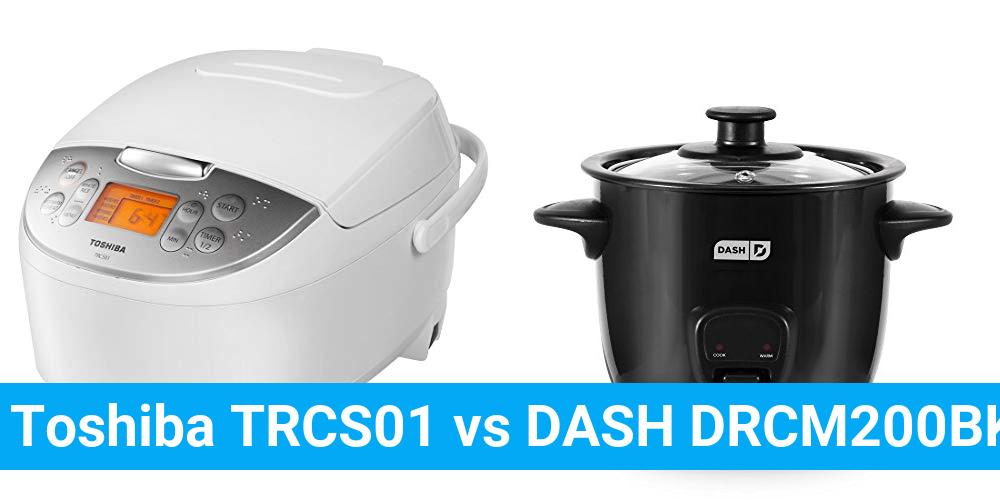 Toshiba TRCS01 vs DASH DRCM200BK