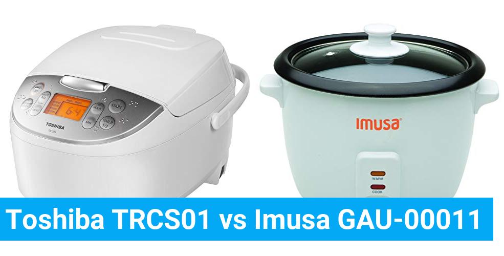 Toshiba TRCS01 vs Imusa GAU-00011