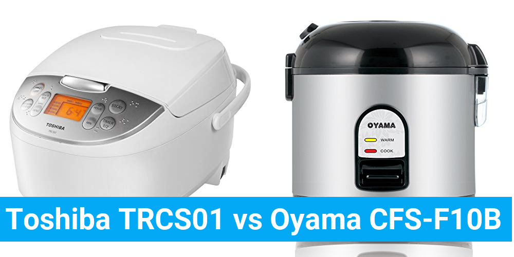 Toshiba TRCS01 vs Oyama CFS-F10B