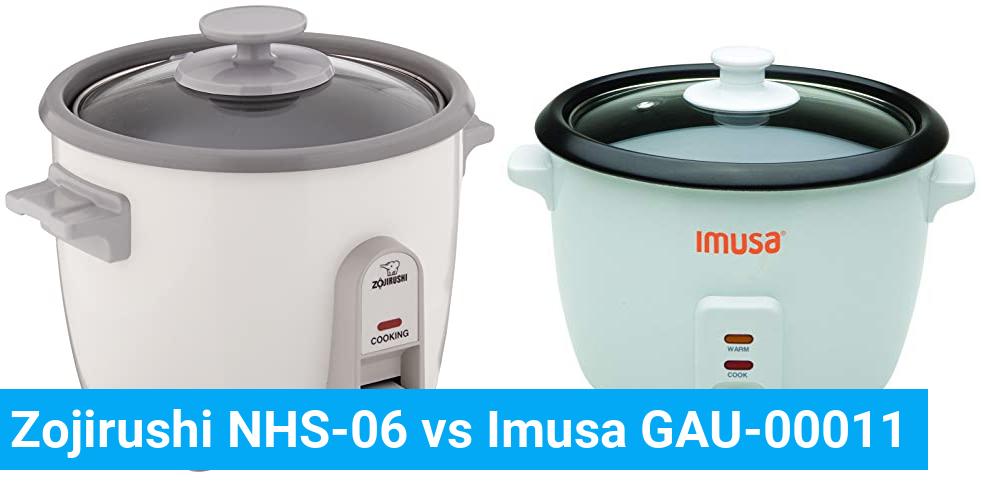 Zojirushi NHS-06 vs Imusa GAU-00011