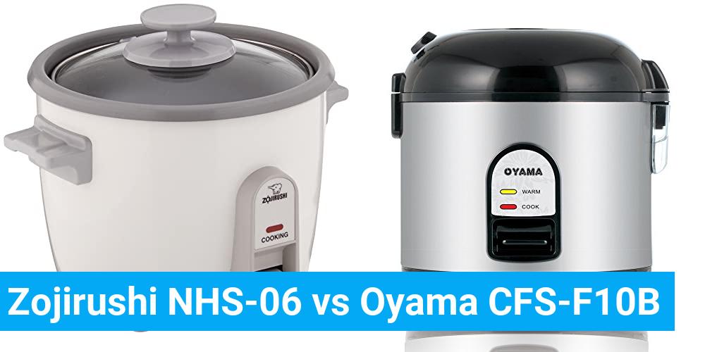 Zojirushi NHS-06 vs Oyama CFS-F10B