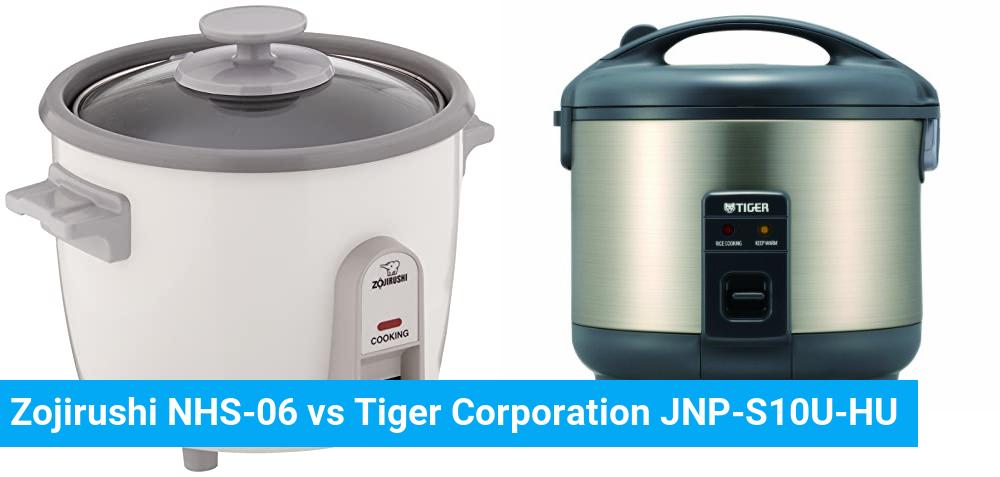 Zojirushi NHS-06 vs Tiger Corporation JNP-S10U-HU