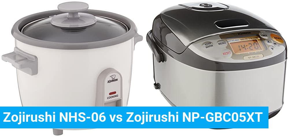 Zojirushi NHS-06 vs Zojirushi NP-GBC05XT
