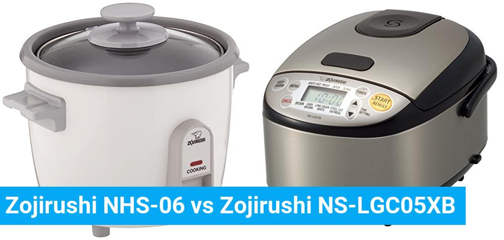 Zojirushi NHS-06 vs Zojirushi NS-LGC05XB