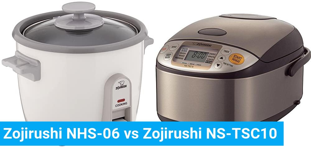 Zojirushi NHS-06 vs Zojirushi NS-TSC10