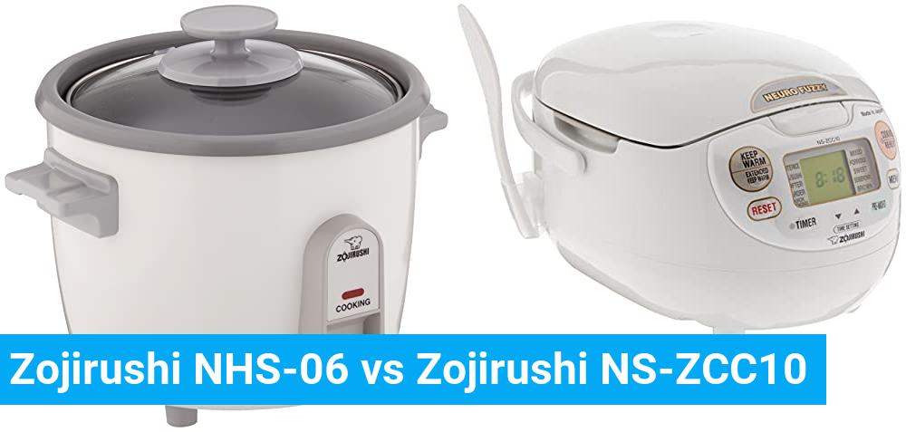 Zojirushi NHS-06 vs Zojirushi NS-ZCC10