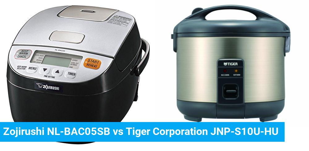 Zojirushi NL-BAC05SB vs Tiger Corporation JNP-S10U-HU
