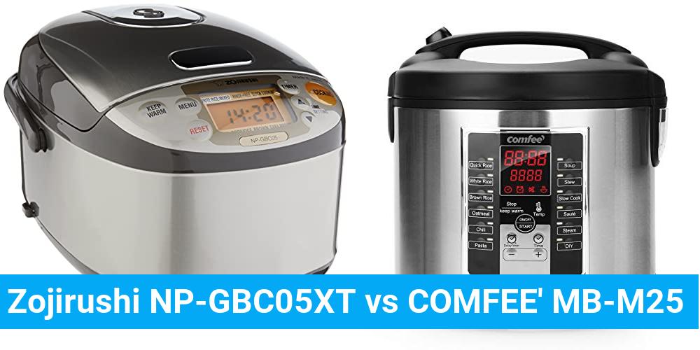 Zojirushi NP-GBC05XT vs COMFEE' MB-M25