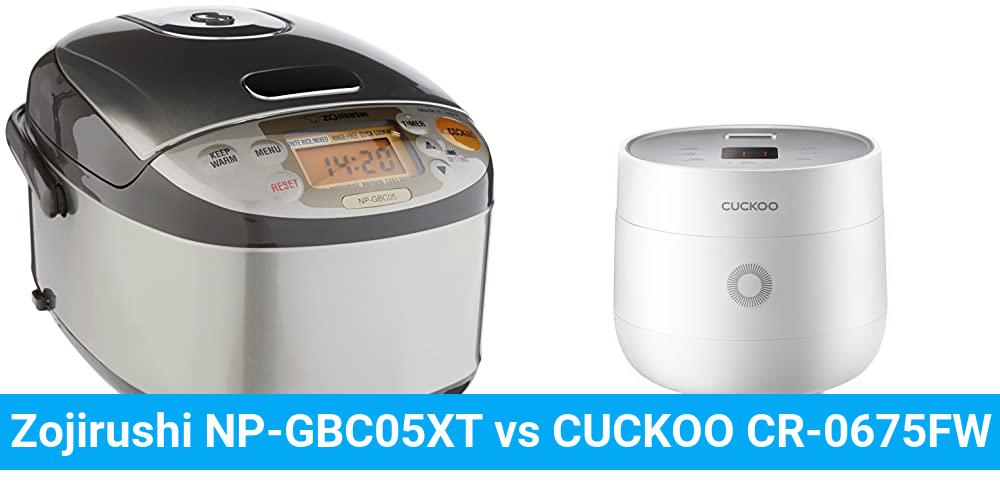 Zojirushi NP-GBC05XT vs CUCKOO CR-0675FW