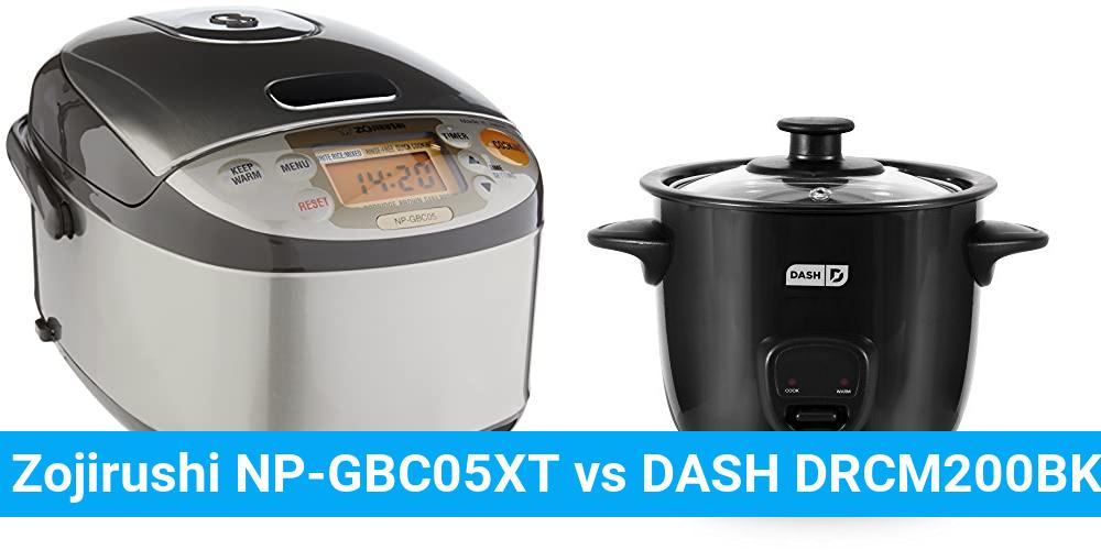Zojirushi NP-GBC05XT vs DASH DRCM200BK