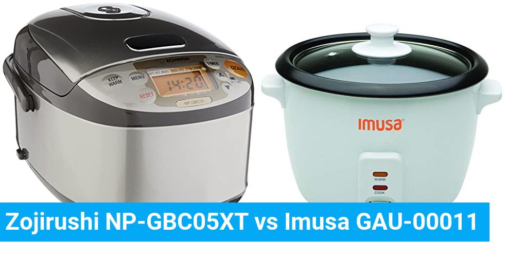 Zojirushi NP-GBC05XT vs Imusa GAU-00011