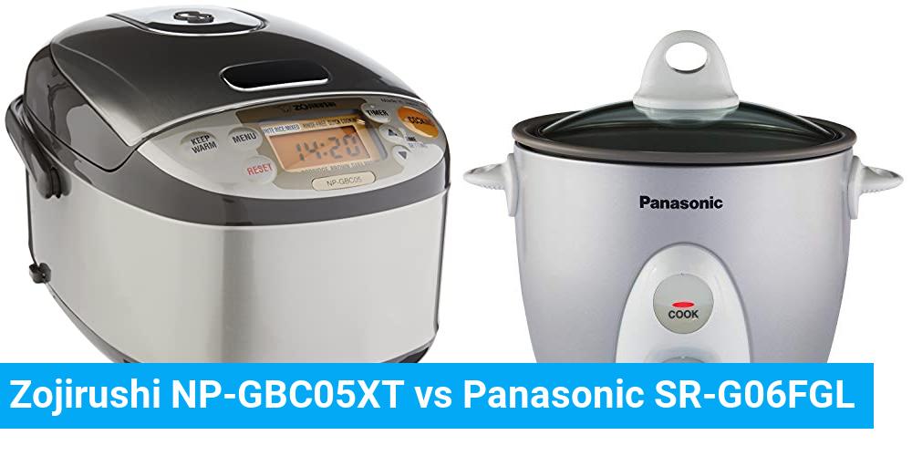 Zojirushi NP-GBC05XT vs Panasonic SR-G06FGL