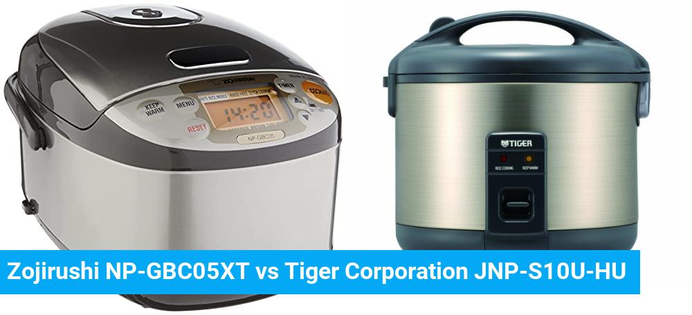 Zojirushi NP-GBC05XT vs Tiger Corporation JNP-S10U-HU