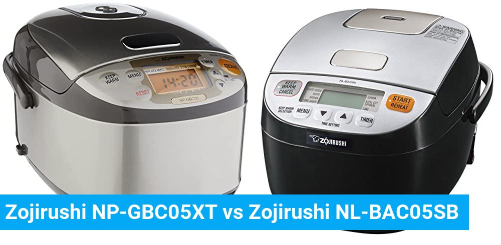 Zojirushi NP-GBC05XT vs Zojirushi NL-BAC05SB