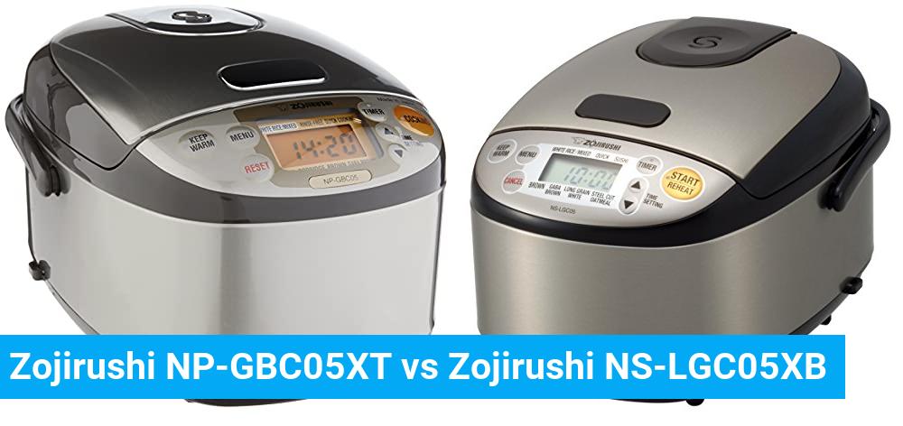 Zojirushi NP-GBC05XT vs Zojirushi NS-LGC05XB
